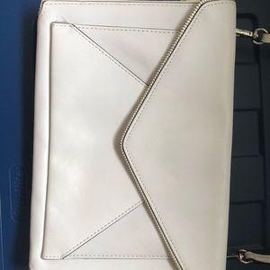 White Envelop style Crossbody Rebecca Minkoff